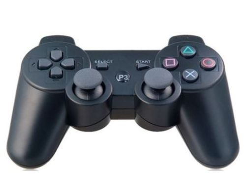 New Wireless Bluetooth Game Controller Remote Console for Sony PS3 Black(China (Mainland))