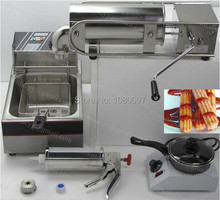 Buy 5L churros machine+churros filling machine+melting pot+fryer for $373.60 in AliExpress store