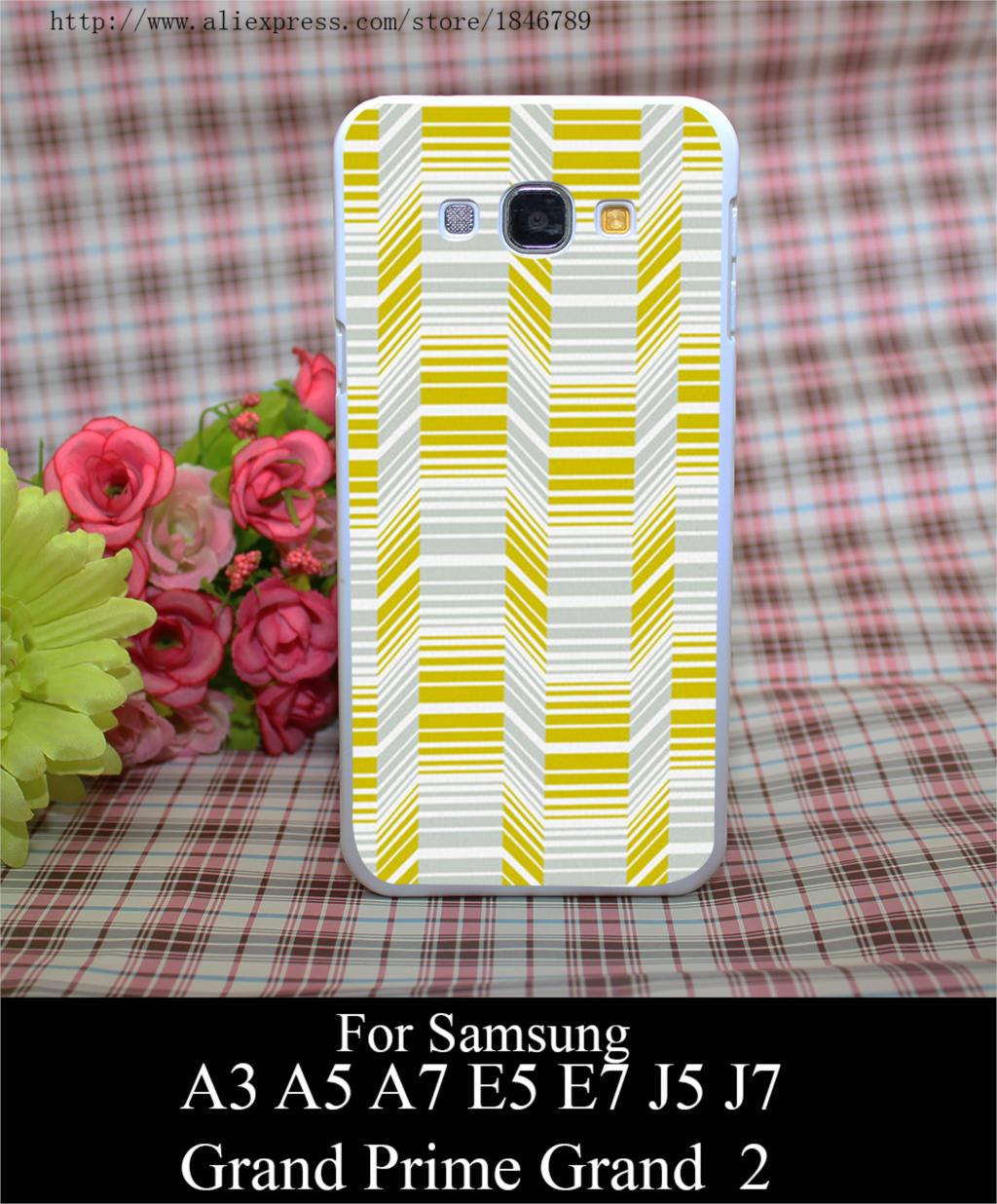 18801A Delineate Citron Style White Hard Case Cover for Samsung A3 A5 A7 A8 E5 E7 J5 J7 Grand Prime G530 Grand 2(China (Mainland))