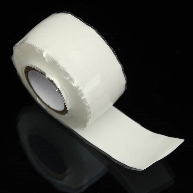 1 Rolls Silicone Rubber Performance Repair Emergency Rescue Tape Adhesive Bonding Tape Width 25mm(China (Mainland))
