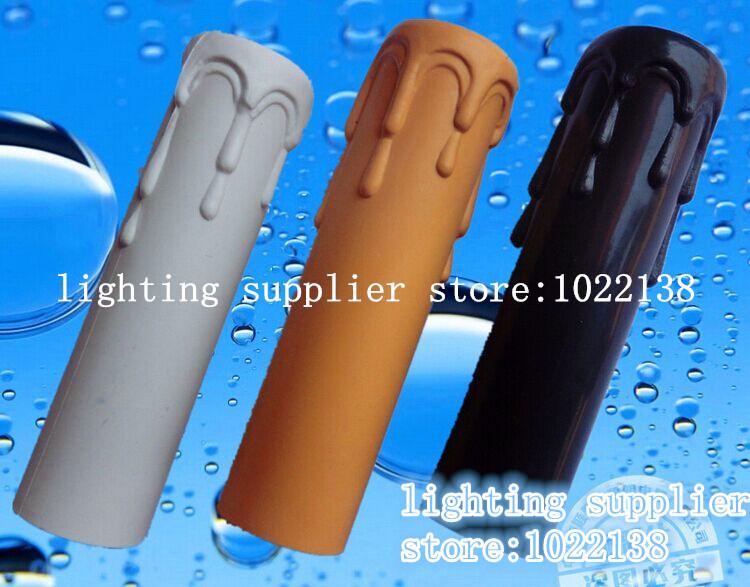 10Pcs/Lot, table lamp base Candle lamp holder tube candle lamp base sleeve Candle bulb base Cover, Chandelier Part, Free Shiping(China (Mainland))