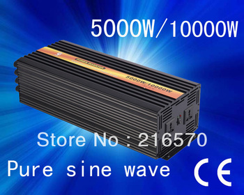 Best quality!!5000w(Peak 10000w) home power inverter(dc 24v to ac 110v/120v/220v/230v/240v (CP-P-5000W)
