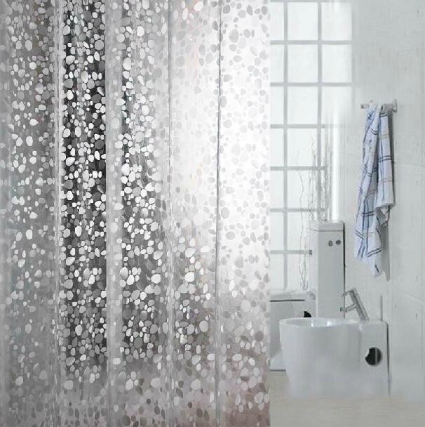 Transparente pvcwaterproof cortina de ducha moho se pueden - Cortina para ducha ...