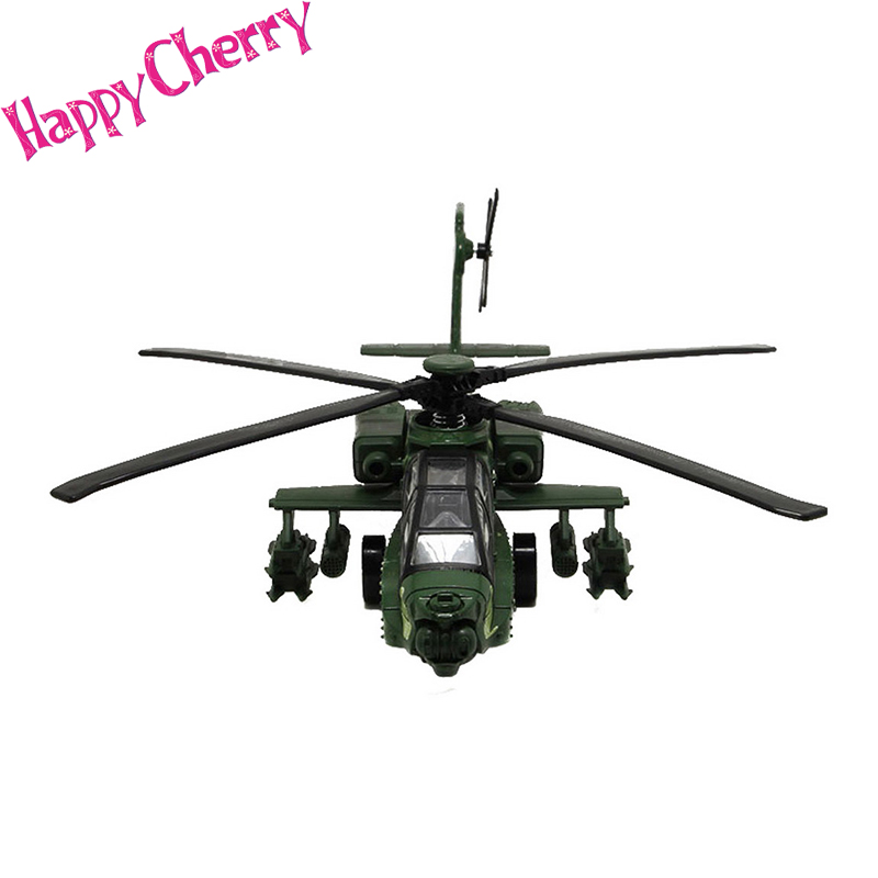 Happy Cherry Kids Cool Military Helicopter Airline Model Toy with Light Music Baby Shower Party Gifts Toys for Baby Boys Girls(China (Mainland))