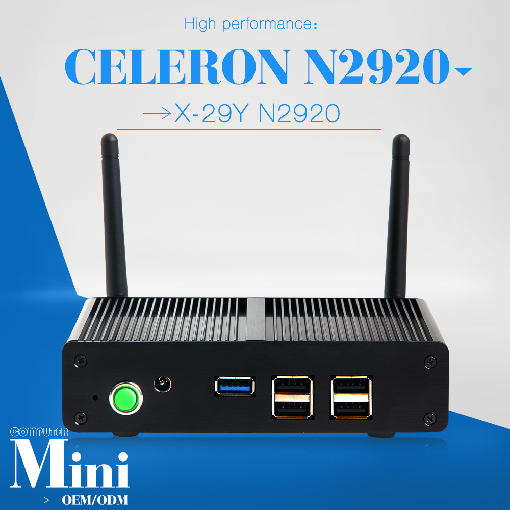 small size but durable and efficient computer pc station celeron N2920 4g ram 128G SSD price installed computer host(China (Mainland))