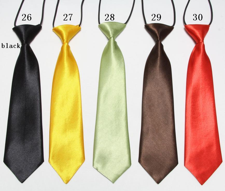 baby ties BOYS' neck tie solid handmade fashion NECKTIE - No.01 Store store