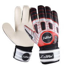 8 - 10 football goalkeeper gloves finger band goalkeeper gloves sports lungmoon gloves(China (Mainland))
