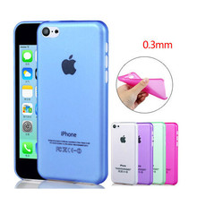 Чехол, ультра-дешевый тонкий прозрачный телефон чехол для Apple iPhone5C iPhone 5C чехол защиты раковина HUIT-AT