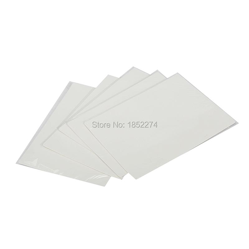 Free Shipping 5Pcs 20*15cm Blank Tattoo Practice Skin Sheet Plain Fake Skin For Eyebrow Lip Tattoo Design Good Quality