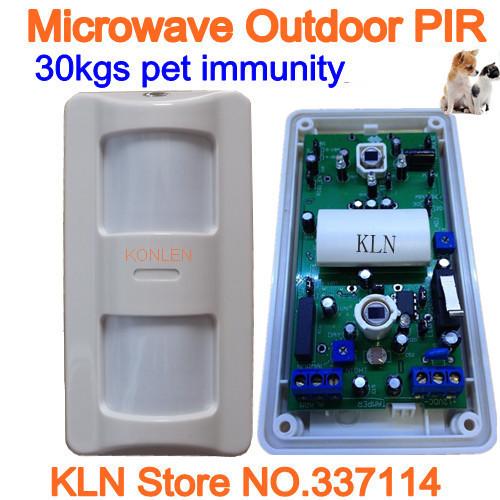 Датчики, Сигнализации KLN micowave 30kgs,  KLN-Y1036W датчики сигнализации kln 433 2262 kln pms01
