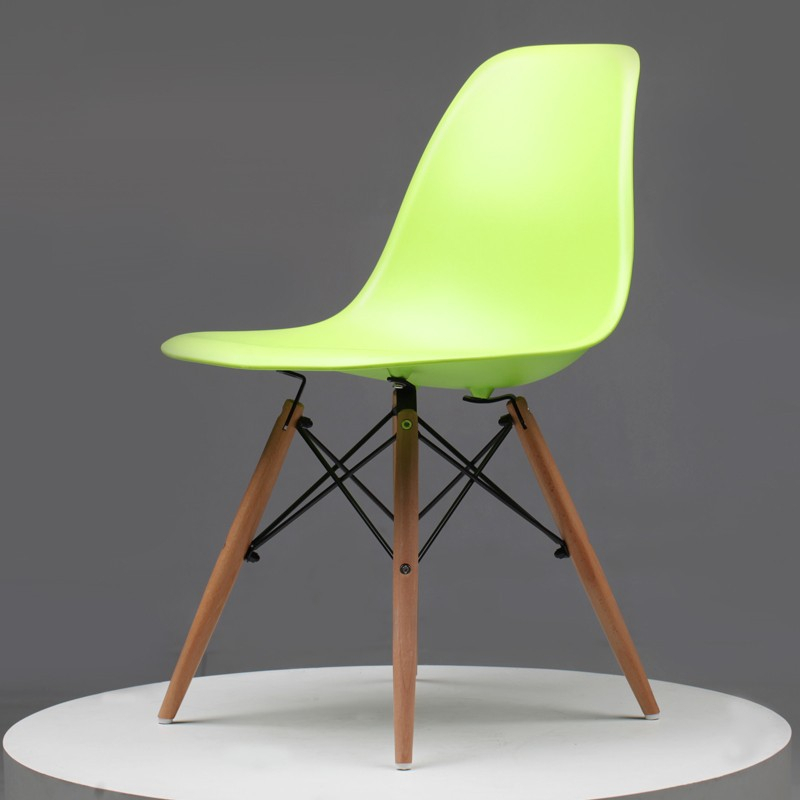 Buy casual plastic dining chair leisure rocking chairs fashion modern bedroom Plastic for furniture