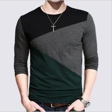 Buy brand clothing T Shirt Men Designs Slim Fit Long Sleeve Casual t-shirt Mens t Shirt Tee Tops Plus size 4XL 5XL tshirt homme #B0 for $10.51 in AliExpress store