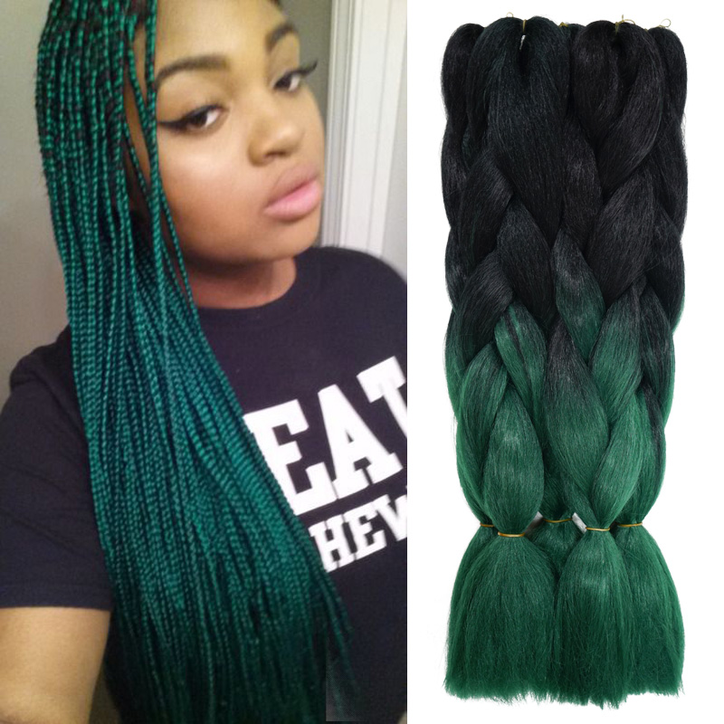 purchase braiding hair ombre aliexpress com buy 24inch