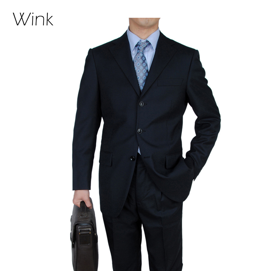 New men superior three buttons european wedding business for Blazer with dress for wedding