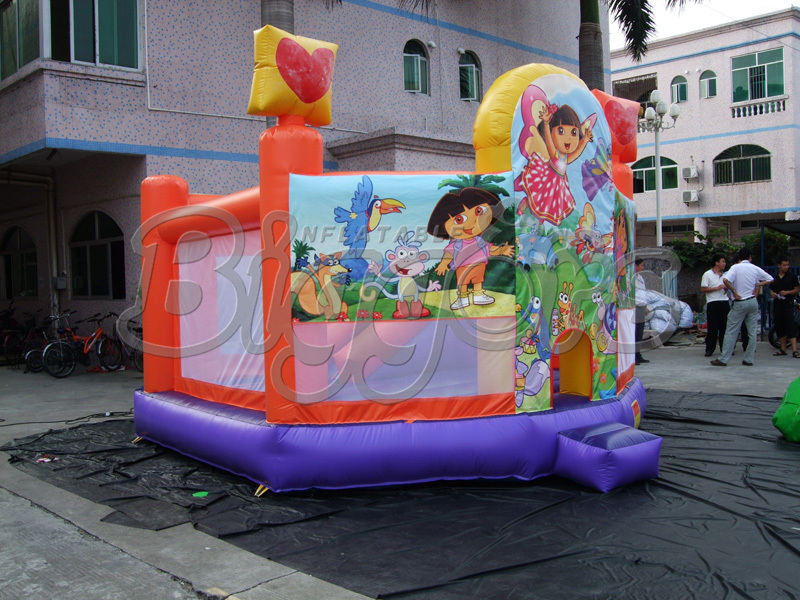 Popular Kids Jumping Castle Inflatable Bounce House For Party(China (Mainland))