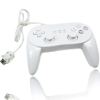 High Quality New White Classic 2nd Pro Wired Game Controller Gamepad For Nintendo Wii/Wii U(OEM packed )<br><br>Aliexpress