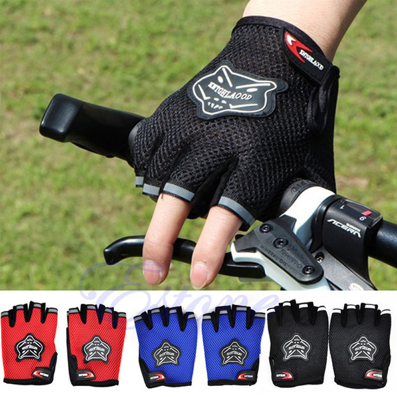 HOT Bike Cycling Bicycle Riding Outdoor Mountain Antiskid New Gel Half Finger Gloves<br><br>Aliexpress