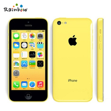 Factory Unlocked Original iPhone 5C iOS Dual Core 4.0 Inches TouchScreen 8.0MP Camera With WIFI GPS Refurbished Mobile Phone(China (Mainland))