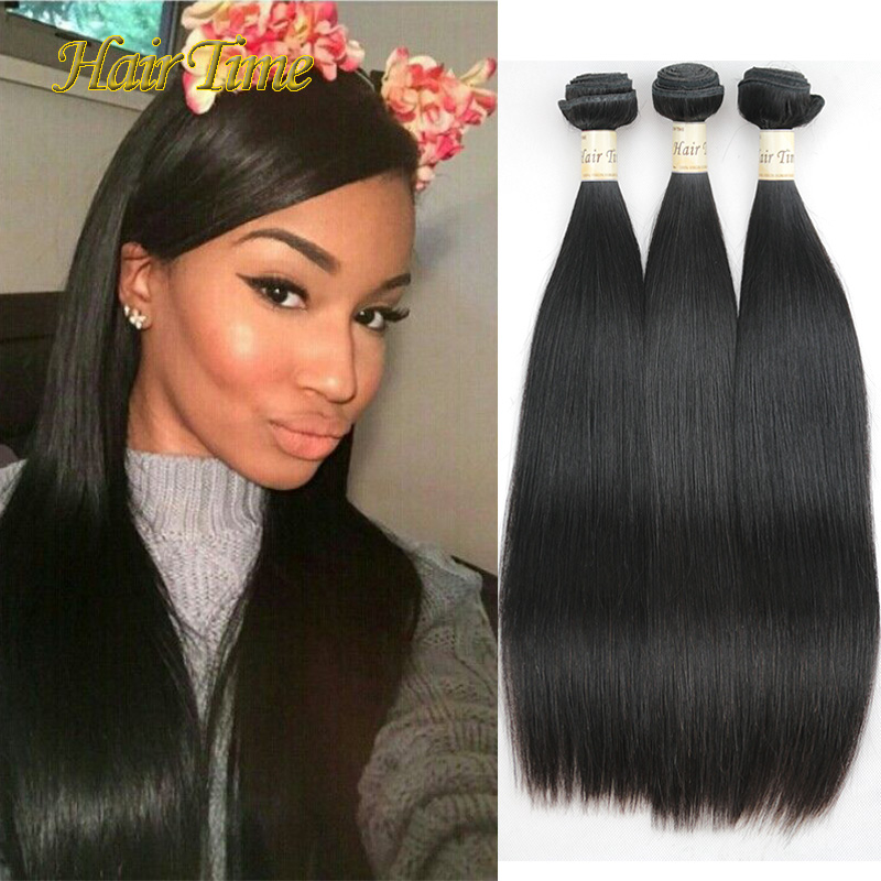 7a grade Brazilian virgin hair straight 3 bundles Halo lady hair cheap unprocessed human hair extensions brazilian straight hair