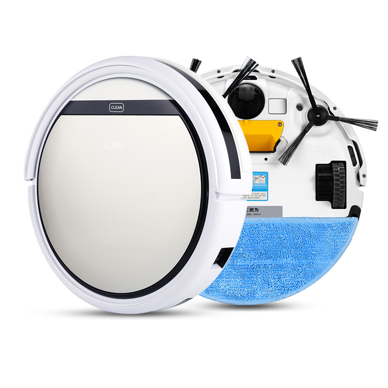 ILIFE V5 Robot Vacuum Cleaner Smart Remote Control Self-charge Microfiber Dust Cleaner OBS Terrain Detection System(China (Mainland))
