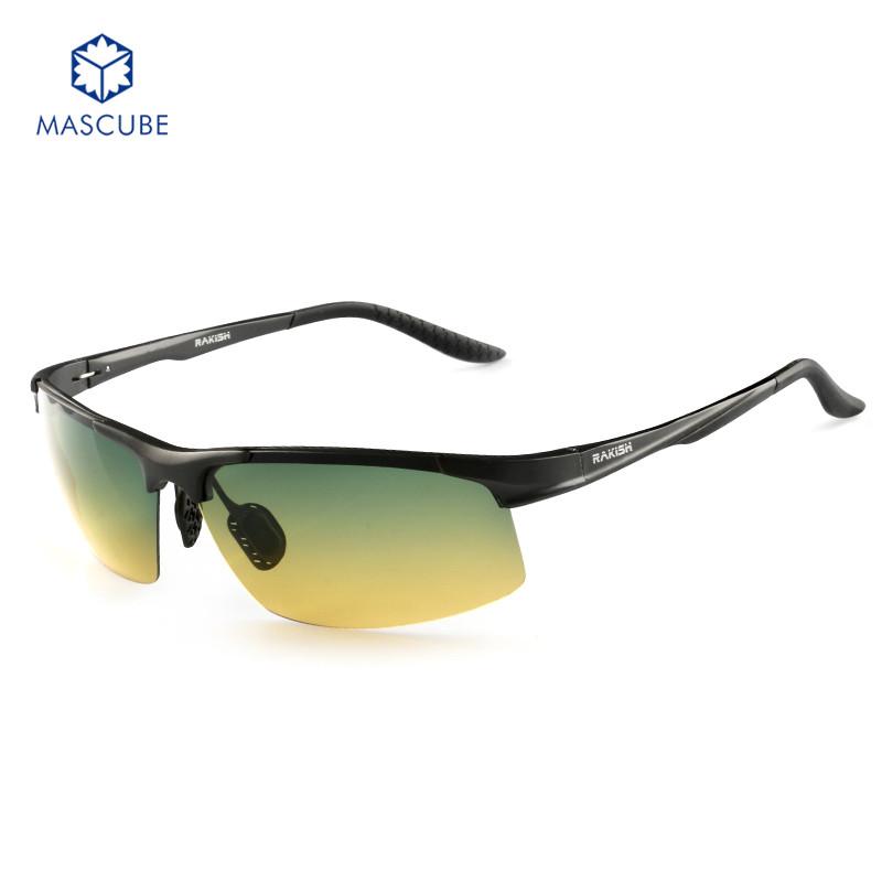 2016 Brand Men Polarized Sunglasses Aluminum Alloy Frame Fashion Driving Mirror Traveling Sport Eyewear with Box and Cloth(China (Mainland))