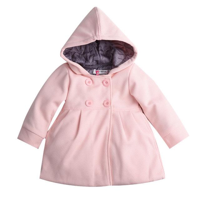2016 baby дети пальто девушки зима розовый пальто дети куртки повседневная одежда младенца детей и пиджаки и пальто детские пальто для девушки