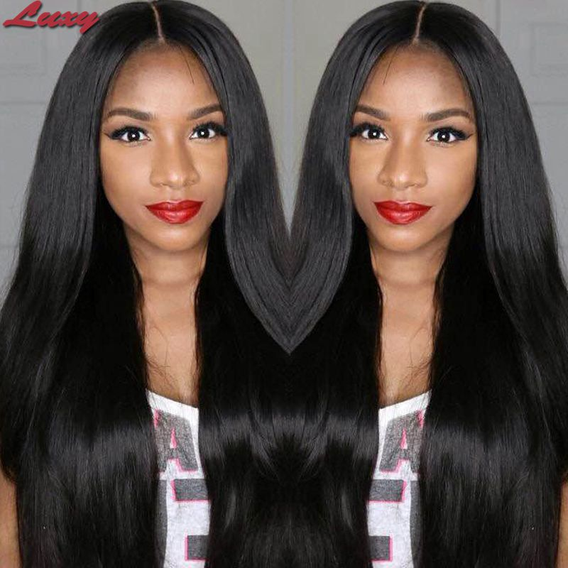 New hairstyle free shipping brazilian lace wig human hair front lace wig  100 full lace human hair wigs for black women <br>