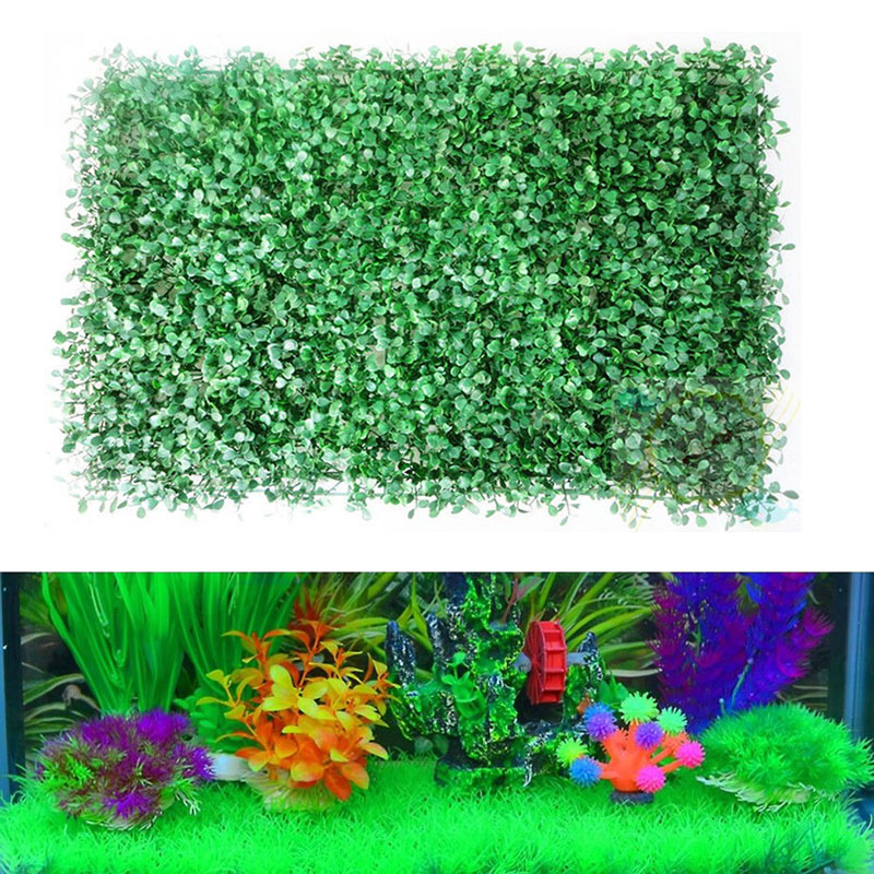 ... Plant Lawn Aquatic Aquarium Fish Tank Decor Large(China (Mainland