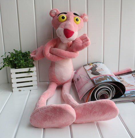 stuffed animal plush 55cm pink panther doll plush toy soft doll w994(China (Mainland))