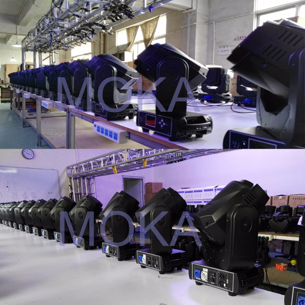 90w led moving head light factory 4