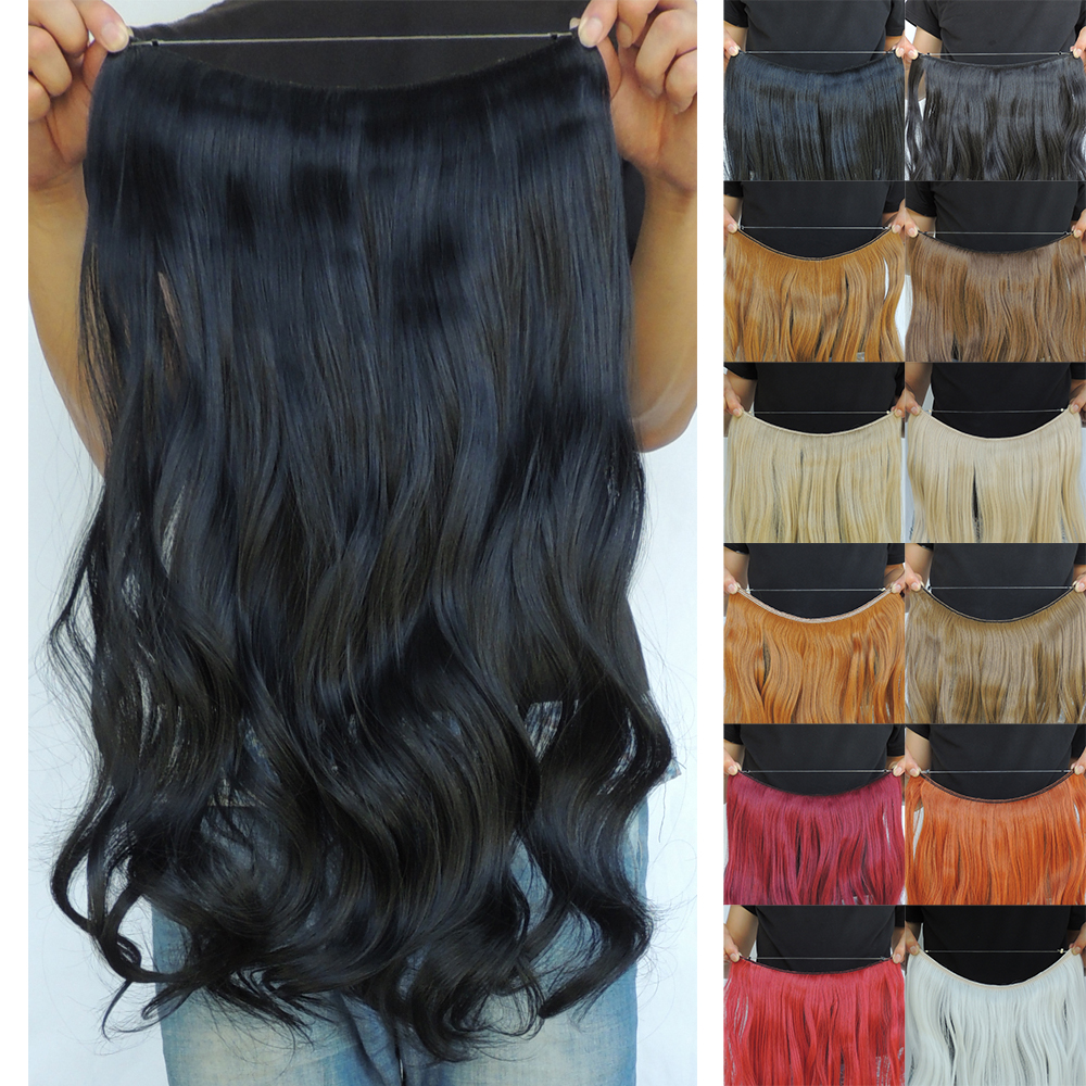 20inch 100g hair extension style cosplay sexy formula ali moda new star flip in short fine fast grey weave extensions halo curly(China (Mainland))