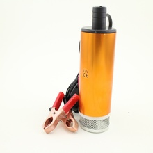 High Quality Aluminium Alloy DC 12V Submersible Diesel Fuel Water Oil Pump On/Off Switch Car Camping Portable 30L Per Minute