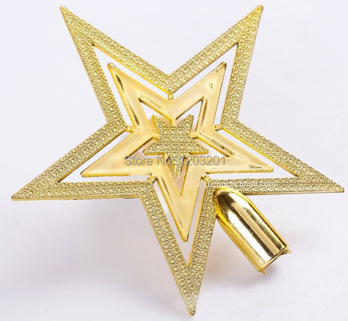 Whole sales xmas decorations new gold christmas