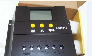 Intelligent solar controller 12v24v60Asolar controller 60A D<br><br>Aliexpress