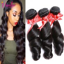 100% Virgin Human Hair Brazilian Loose Wave 3 Bundles Loose Wave Virgin Hair 8A Grade Brazilian Hair Bundles Brazilian Remy Hair(China (Mainland))