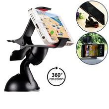 360 GPS лобовое стекло автомобиля телефон держатель кронштейн стоять GPS чехол для iPhone 5 6 6 S плюс для Samsung s3 S4 S5 S6 край HTC