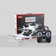 White Syma X5SW Gyro SYNC IMAGE Explorers-II FPV 2.4Ghz 6-Axis UFO RC Quadcopter Helicopter Drone With 2MP Wifi Camera 3D Roll