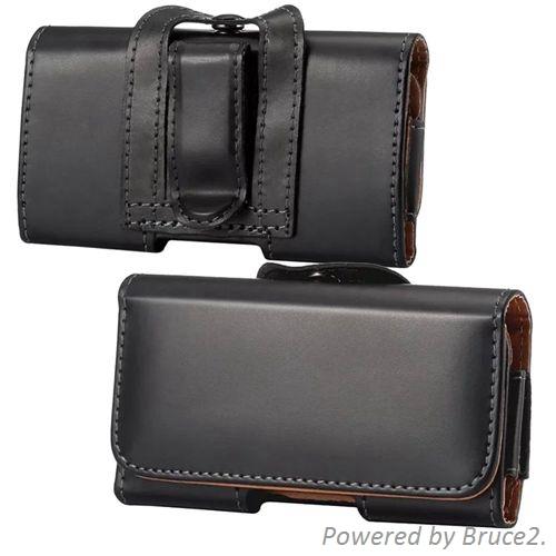 For Motorola RAZR D1 Belt Clip Loop Hip Holster Leather Flip Pouch Case Cover Belt Leather Case(China (Mainland))