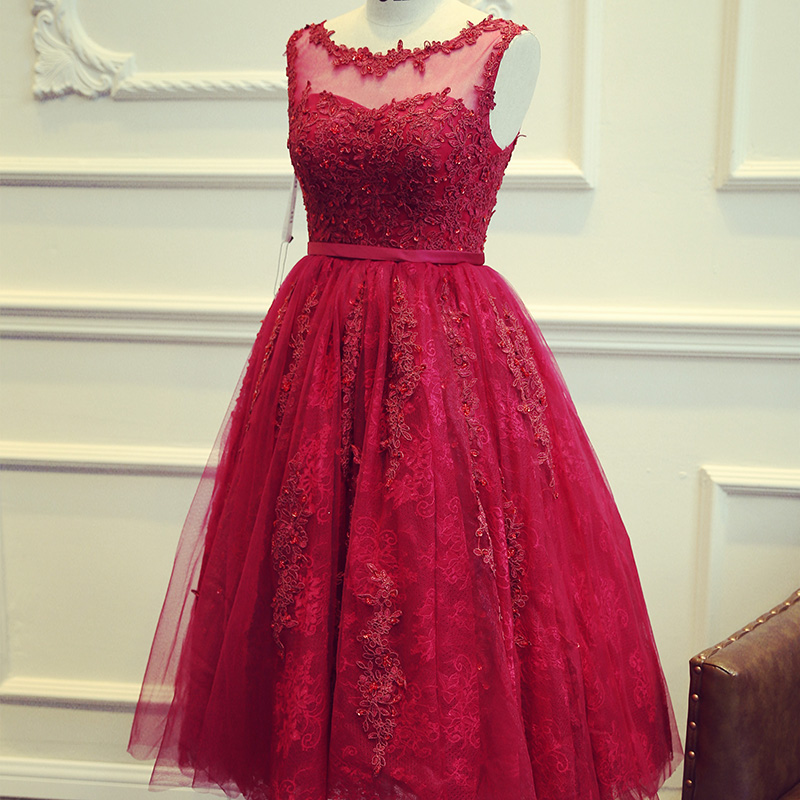 Evening Dresses Red Color 102