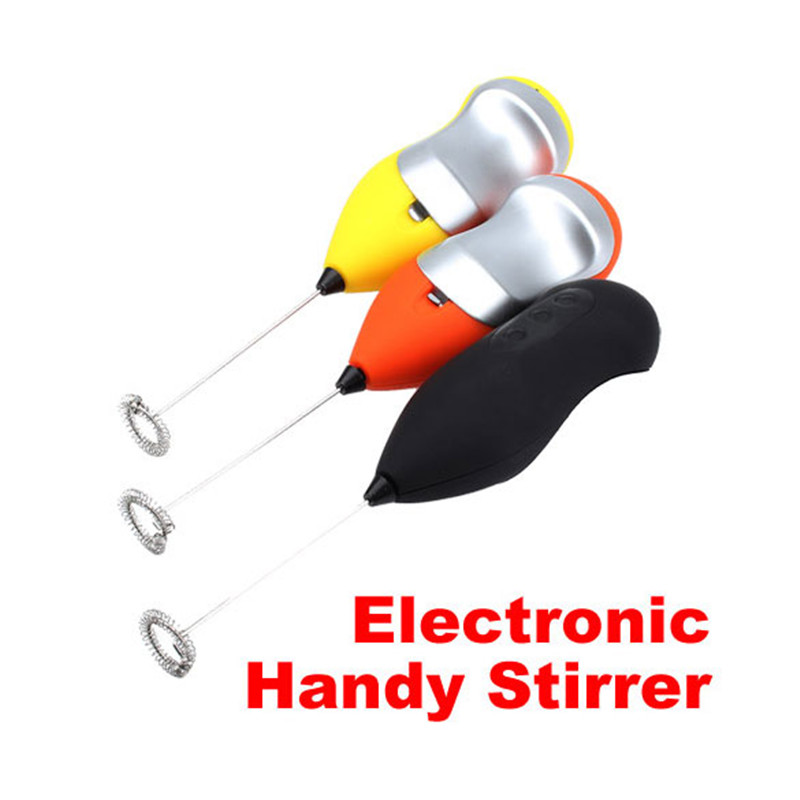 Egg Beaters and Stiring New Mini Handy Coffee Milk Drink Electronic Mixer Stirrer(China (Mainland))