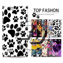 Chic 10 Patterns Flower Heart Tiger Minions Printing Silicon Soft Tpu Gel Cover Case ZTE Blade L2 - jemeiy second store