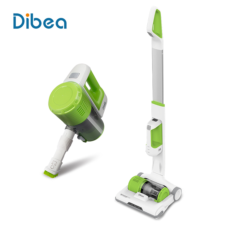 Dibea C01 Cordless 2-in-1 Handy Vacuum Cleaner Upright LED Lamp 7Kpa Vacuum Suction Dust Collector Household Stick Aspirator(China (Mainland))