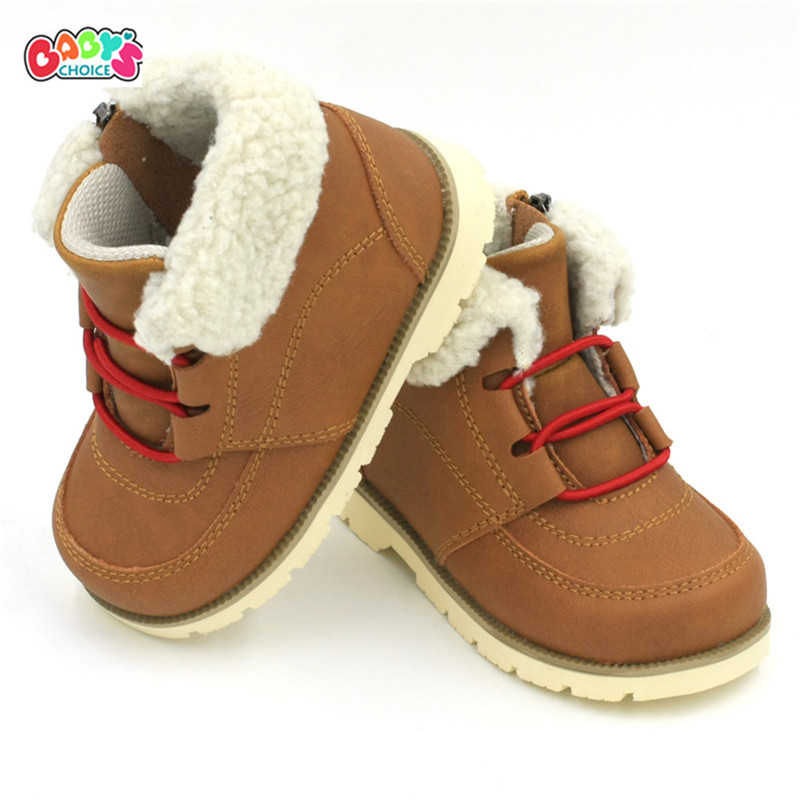 Baby's Choice 2016 new casual infant child martin boots light cowhid leather fashion anti-slip comfort boys and girls shoes(China (Mainland))