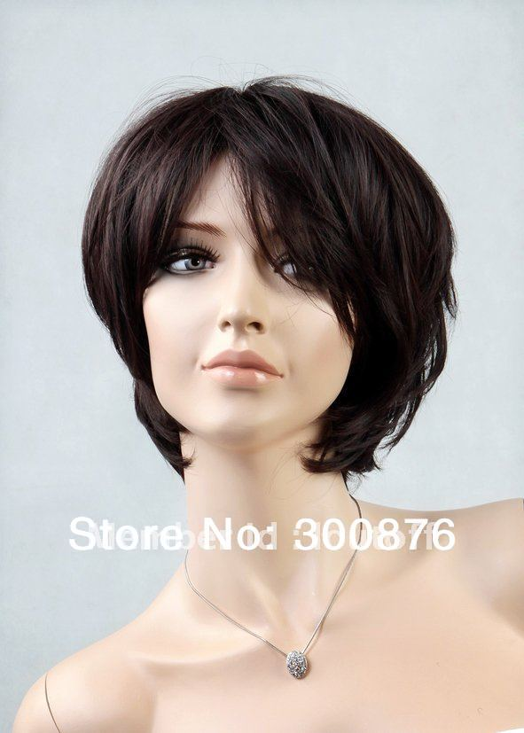 New Fashion Sweet Girl Wig, Fluffy Short Curly Light Brown Lady Full Wig ,Quick delivery,High quality,100% KANEKALON(China (Mainland))