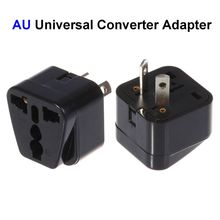 Buy 100pcs US EU UK AU Plug Adapter America European Australia Universal AC Travel Power Adapter Converter Outlet for $50.07 in AliExpress store