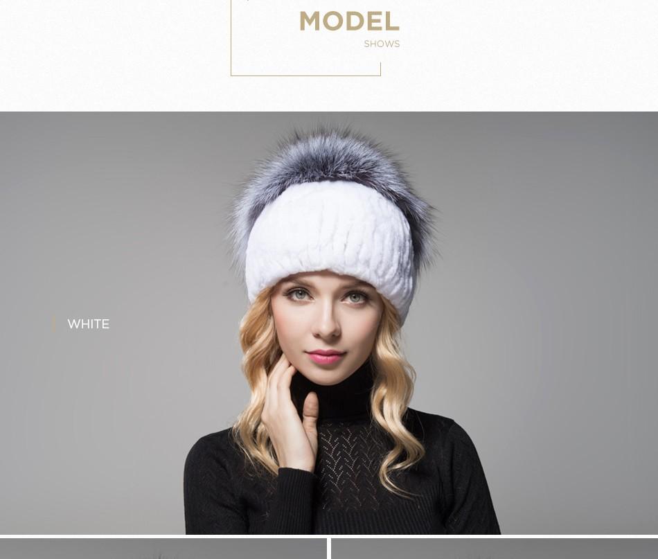 fur hat female winter PCM006 (9)