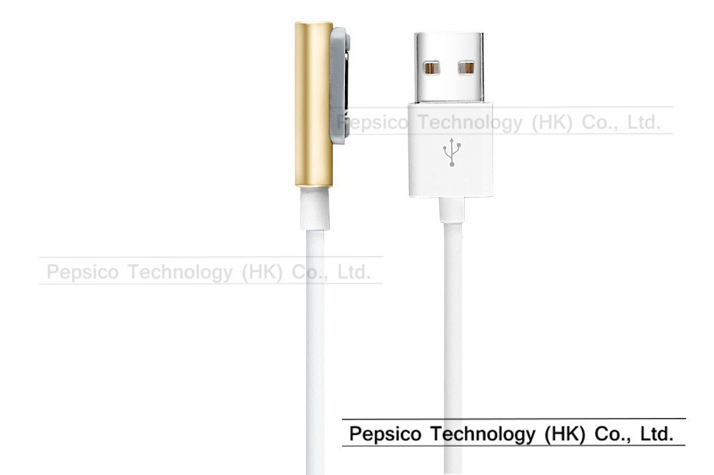 Magnetic Charging Phone USB Cable Charger For Sony Xperia