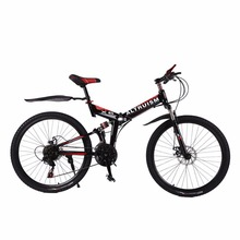 Buy Altruism X6 24 Speed 26 Inch Steel Mountain Bike Disc Brake Road Bike Bicycle Racing Suspension Bicycles for $191.24 in AliExpress store