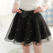New women summer skirt beading princess puff skirts high waist short skirt Ladies fashion bust skirt 8 colors free shipping