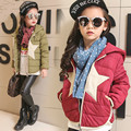 New Arrival Winter 2016 Girls Down Jacket Boys Fashion Down Jacket Kids Coat Children Star Pattern